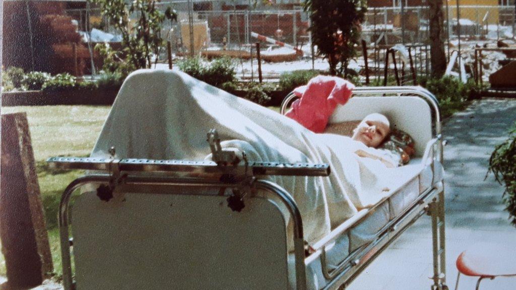 Marjoleen Clemens in 1981
