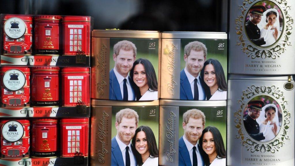 Theedoosjes prins Harry en Meghan Markle