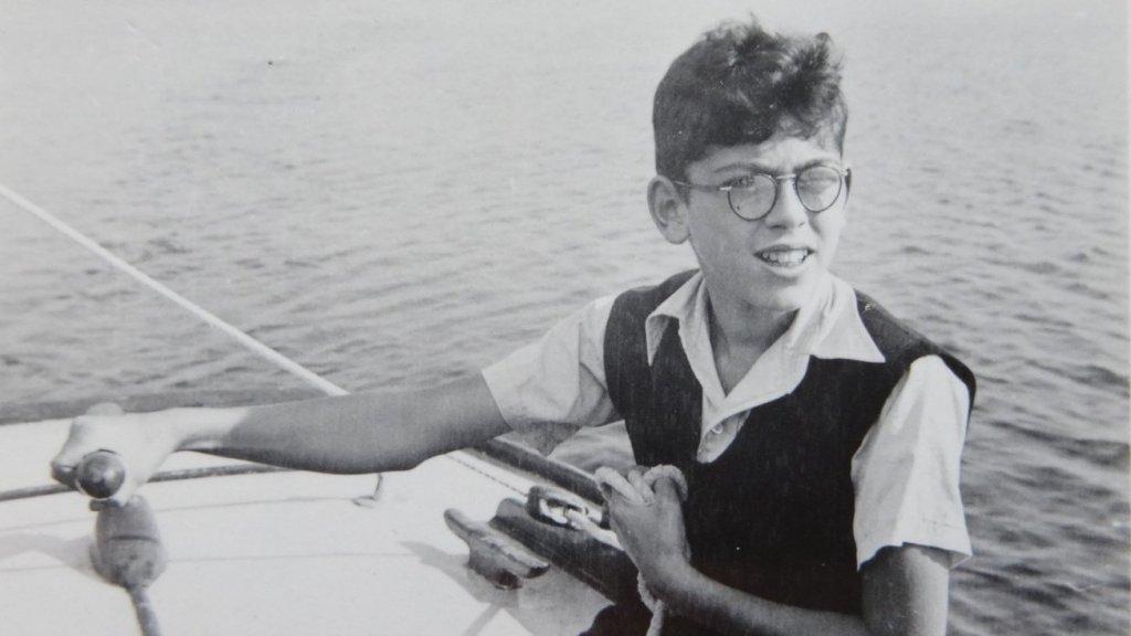 Ernst tijdens zijn jeugd, vóór de oorlog