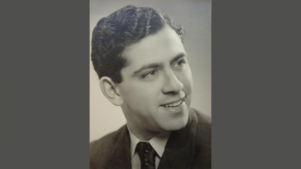 Ernst Verduin, na de oorlog.
