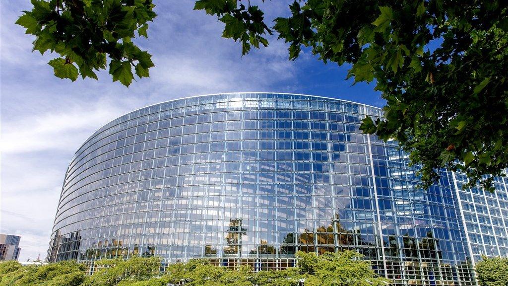 Het Louise Weissgebouw is de zetel van het Europees Parlement in Straatsburg.