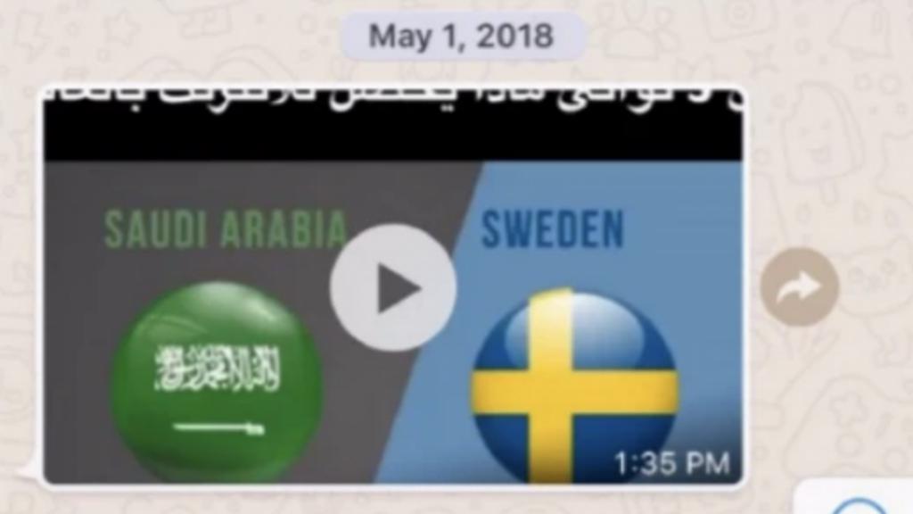 Dit is de video die Bezos ontving.