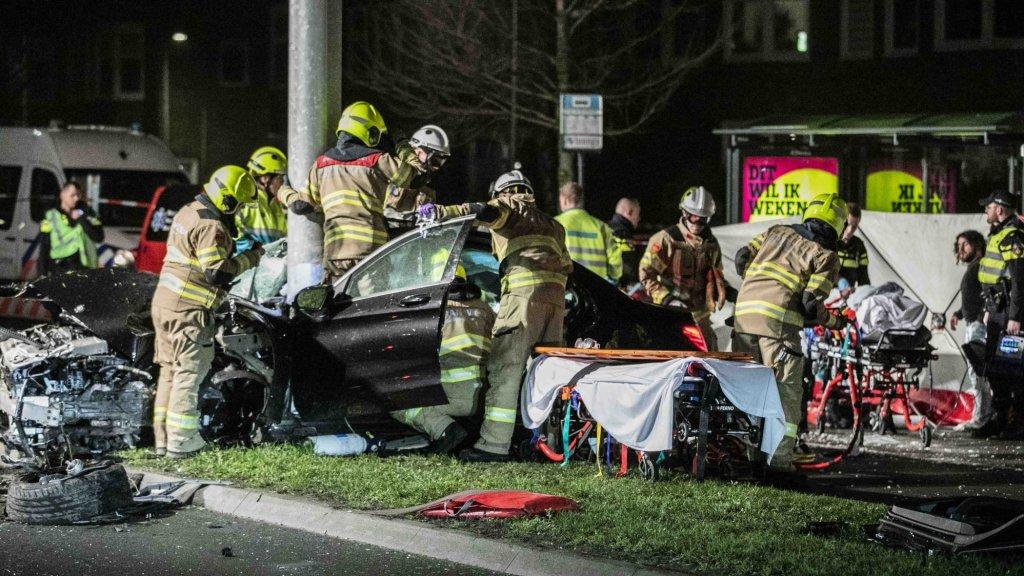 Vijf mannen raakten bij het ongeluk in Arnhem gewond
