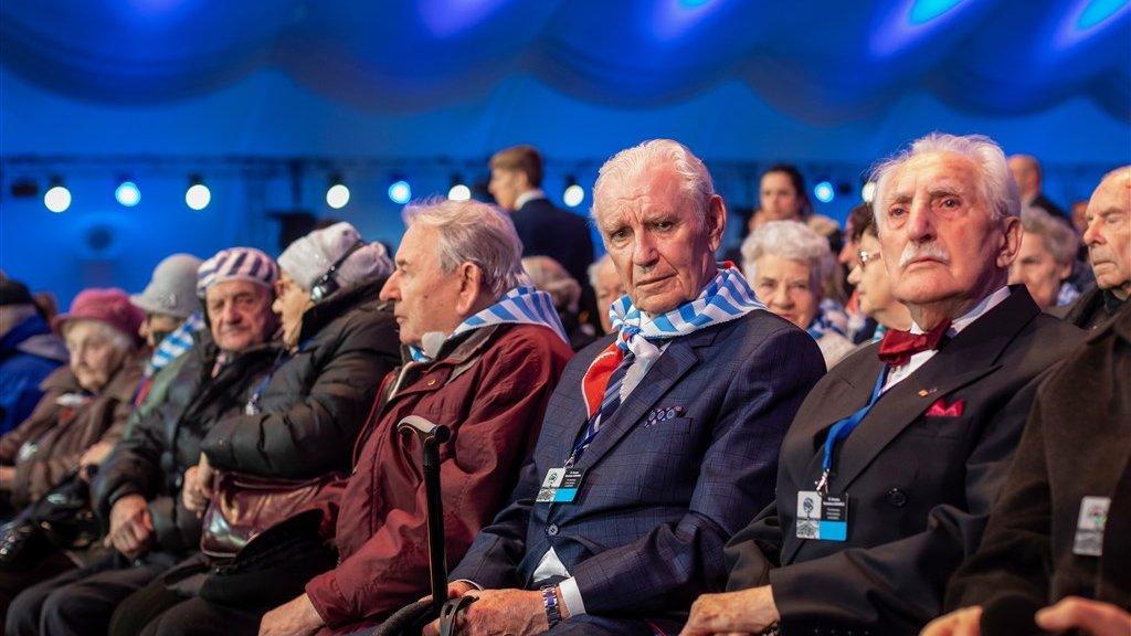 Kijk mee: herdenking 75 jaar na bevrijding Auschwitz