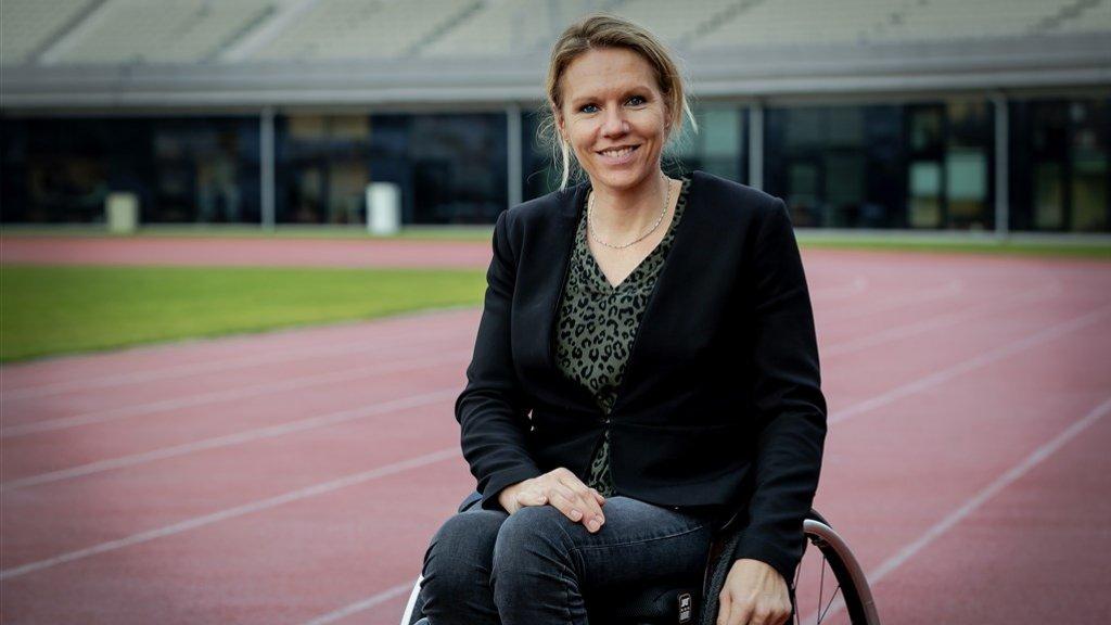 Na haar topsportcarrière werd Esther chef de mission van de Paralympische Spelen in Tokyo, die beginnen in augustus dit jaar.