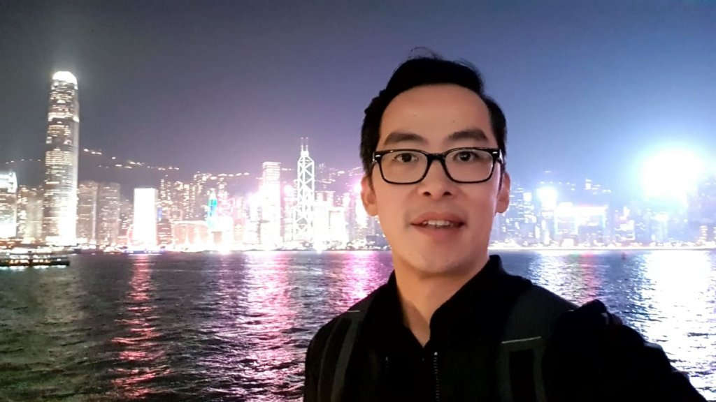 Songkie Lie in Hongkong.