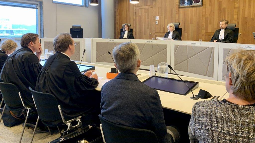 De rechtbank in Den Haag.