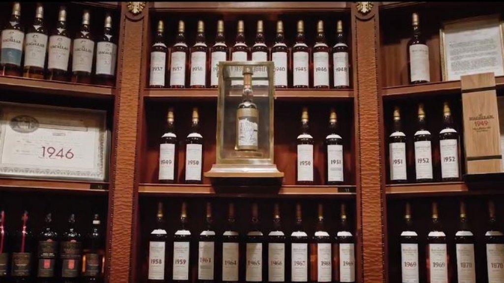 Enkele van de flessen uit de collectie van Gooding