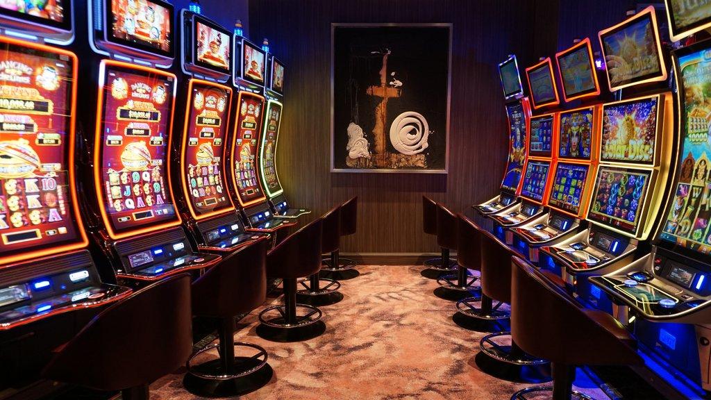 Overal kunst, zelfs in het casino.