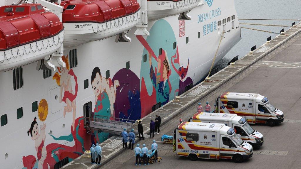 Passagiers met coronavirus worden van boord gehaald