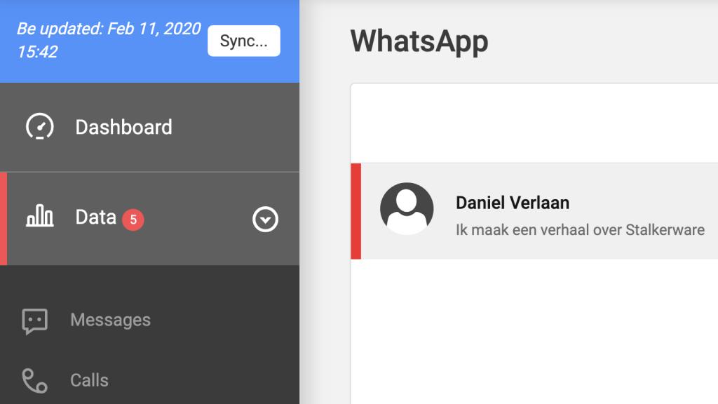 Zo kun je meelezen met WhatsAppgesprekken.