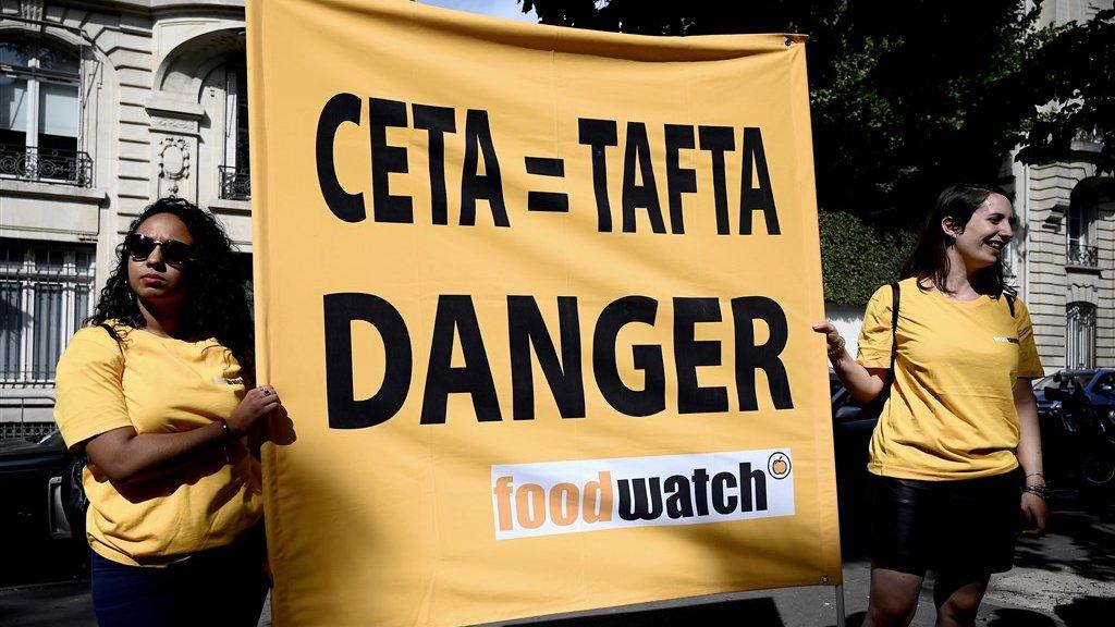 Onder meer Foodwatch maakt zich grote zorgen om CETA.