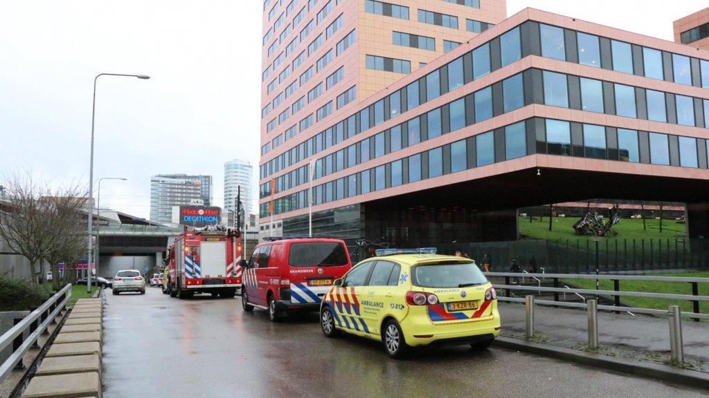 Bombrief ontploft bij ING kantoor Amsterdam Zuidoost