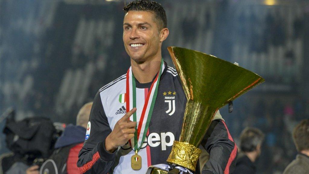 Meteen in zijn eerste seizoen bij Juventus werd Cristiano Ronaldo vorig seizoen kampioen