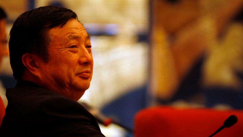 Huawei-oprichter en ceo Ren Zhengfei in 2008.