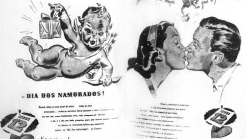 De bewuste reclamecampagne uit 1949