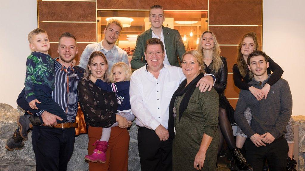 Rob Meurs en zijn gezin van Hotel der Brabander