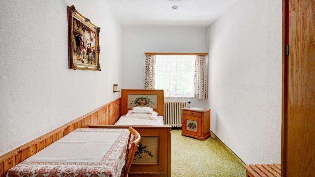 Een van de hotelkamers in Zum Türken.