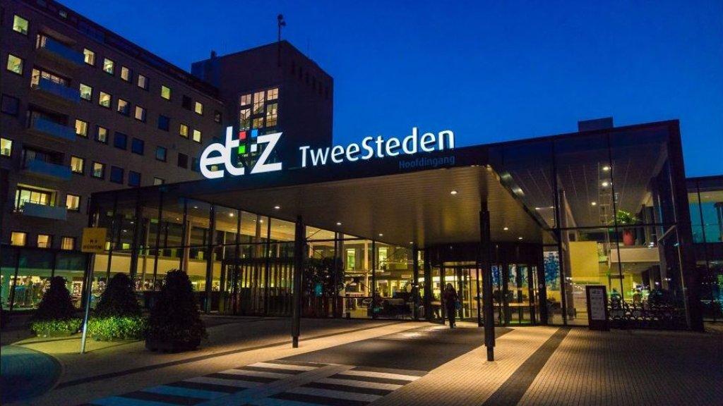 Het ETZ-TweeSteden Ziekenhuis in Tilburg, waar 27 februari de eerste Nederlandse coronapatiënt wordt opgenomen.