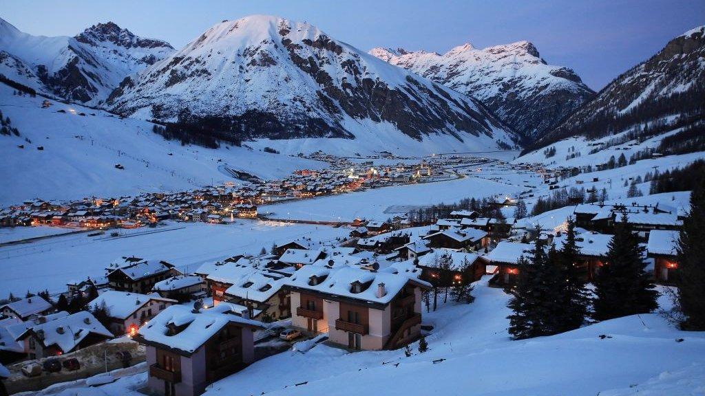 Skidorp Livigno is normaal tot begin mei open. Nu is het dicht.