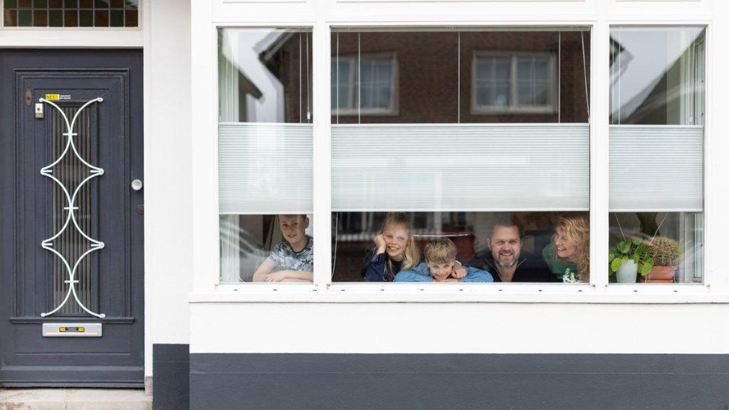 Het gezin van Nienke in Enschede.