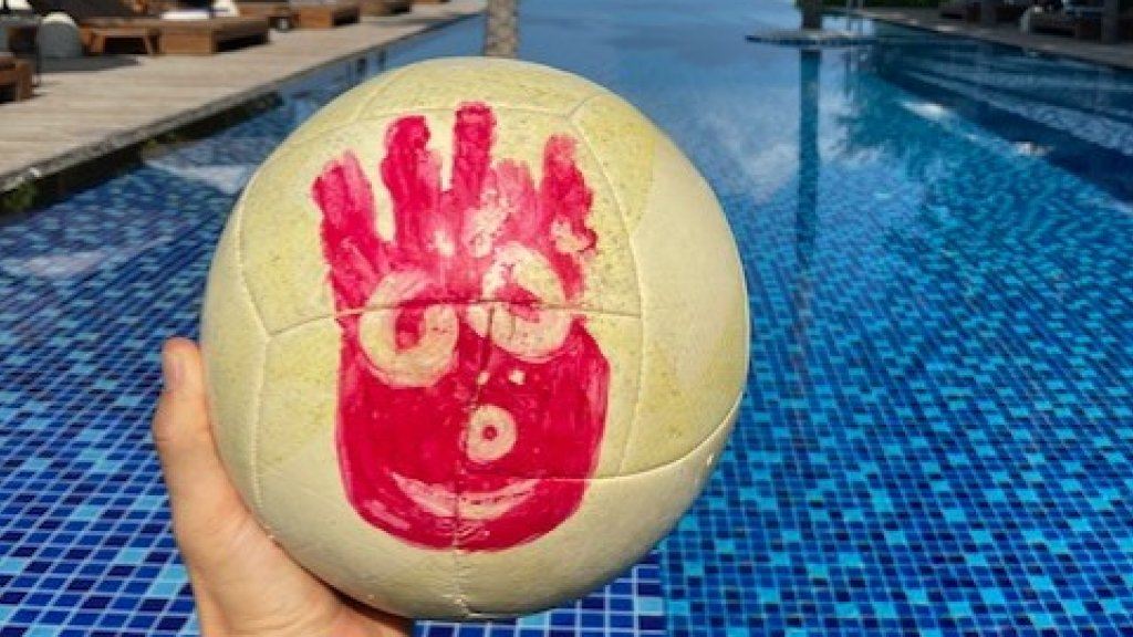 Wilson, de volleybal die Tom Hanks had toen hij crashte in Cast Away