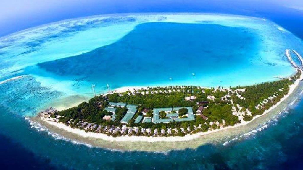 Het eiland waar Jan op werkt.