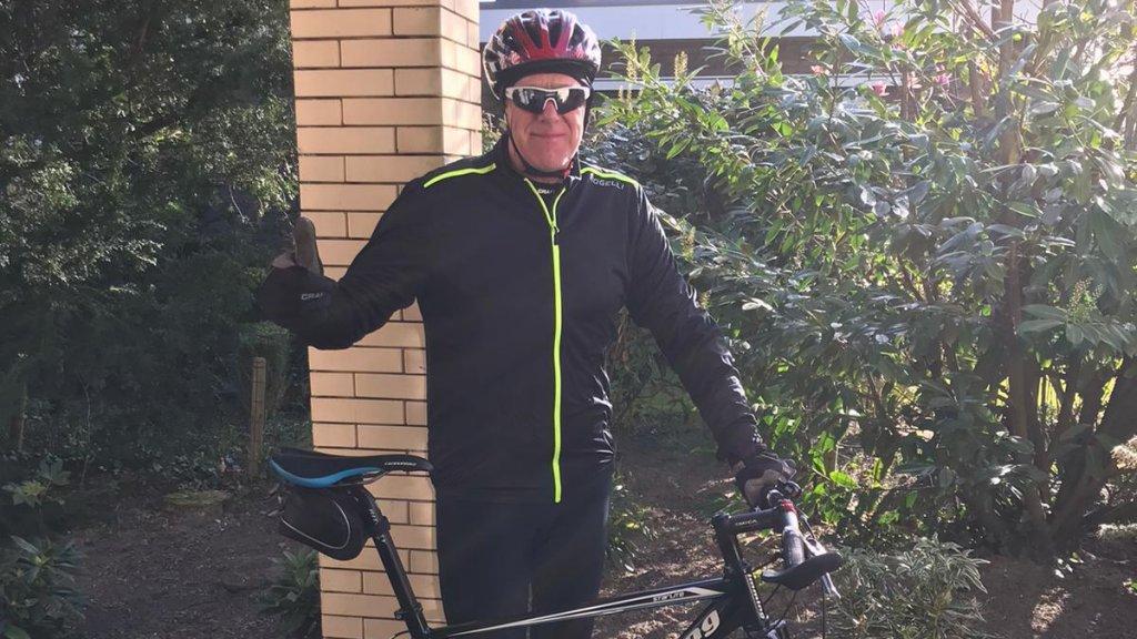 """""""Ik fietste voorheen 70 kilometer per rit."""""""