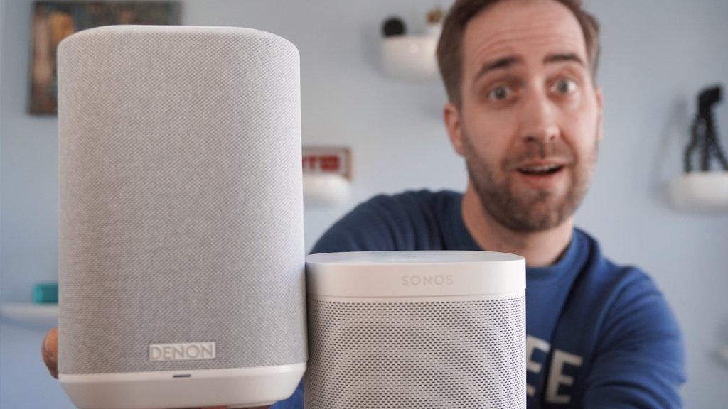 Een van de prijzen: Denon wifi-speaker