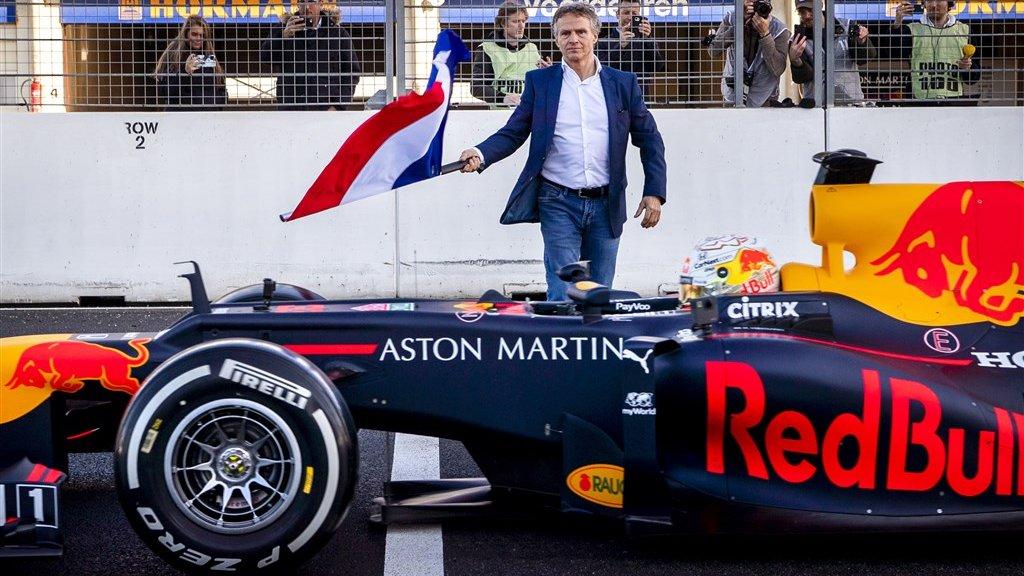 Grand Prix directeur Jan Lammers reageerde 'chique'.