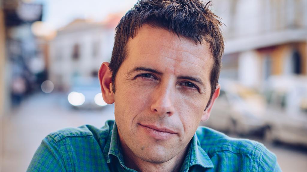 Stef Biemans, presentator van Brieven uit Nicaragua