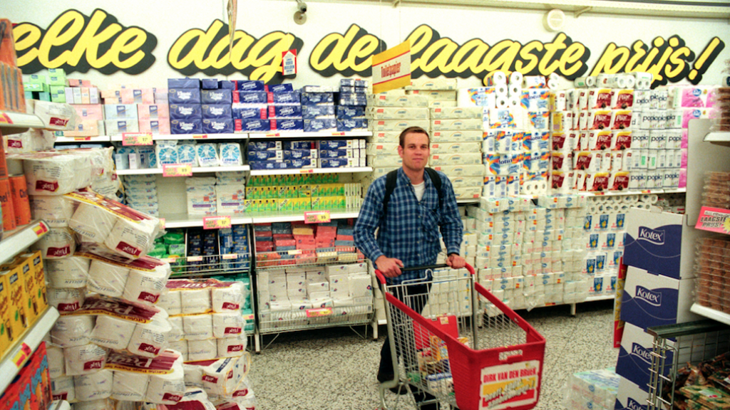 Een Dirk-supermarkt in 1998.