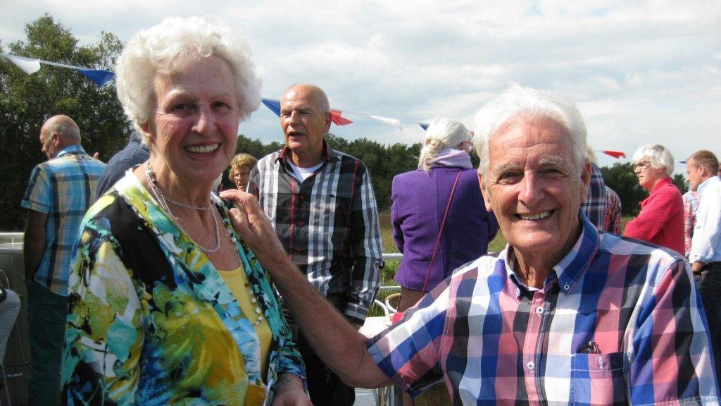 Ton Verboon en zijn vrouw.
