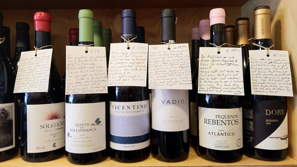 The Wine Spot in Amsterdam.