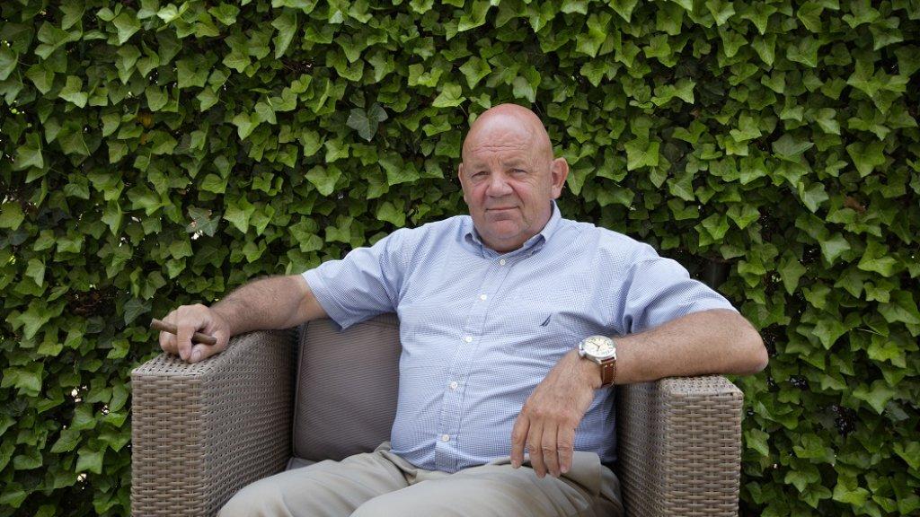 Oud-directeur MIVD generaal-majoor Pieter Cobelens.