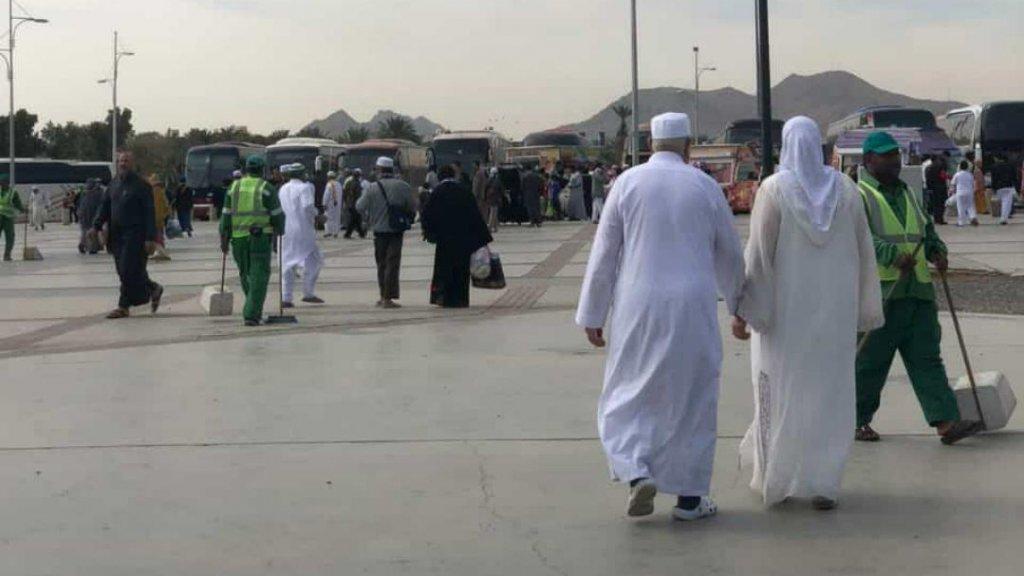 M'hamed en Tamimount in Mekka.