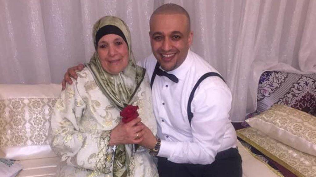 Moeder Tamimount, samen met Hassan.