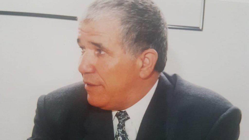 De oom van Hassan, Ahmed Habbou (80)