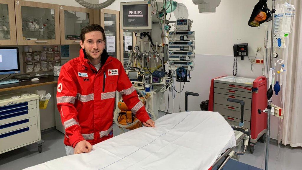 Jan Out (25) werkt als verpleegkundige op de spoedeisende hulp