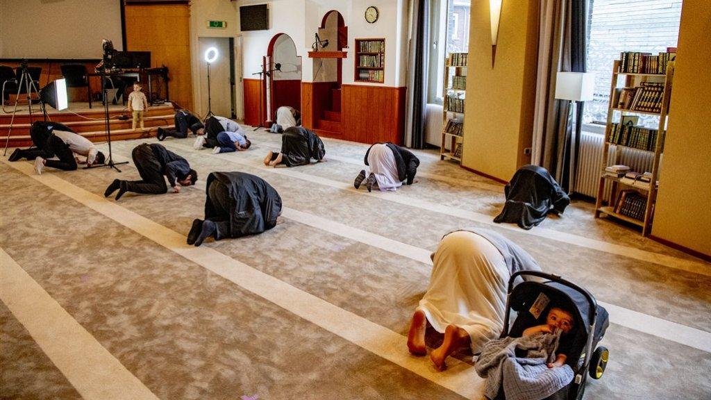 De Rotterdamse moskee Centrum De Middenweg.