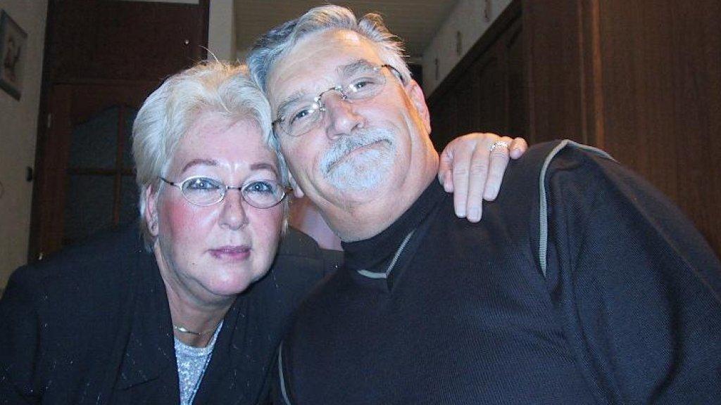 Karel, samen met zijn vriendin Tonnie.