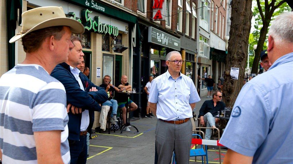 Aboutaleb: maximaal 80 mensen bij protest op plein Rotterdam