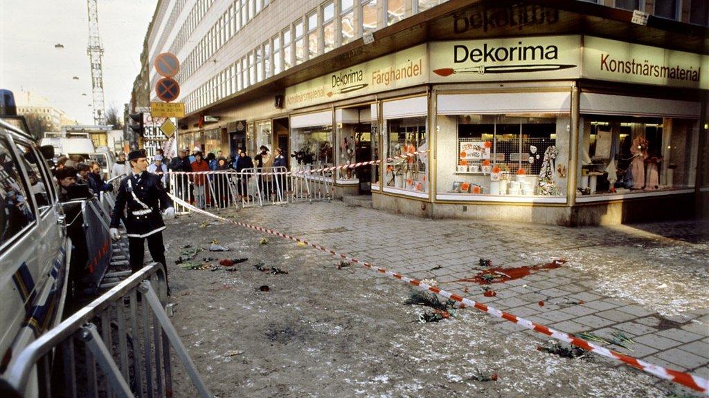 Op deze plek in Stockholm werd Olof Palme doodgeschoten