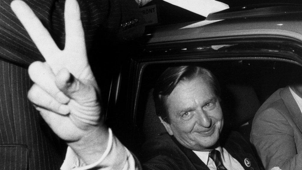 Olof Palme in 1982