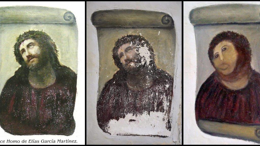 De 'Monkey Christ' in Borja