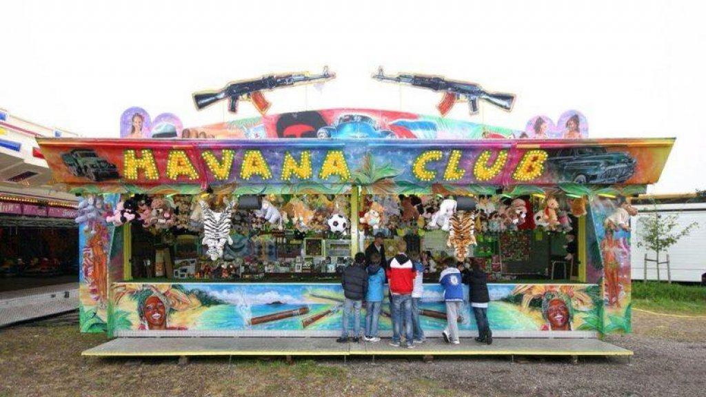 Schiettent Havana Club van Peter Verwijk.
