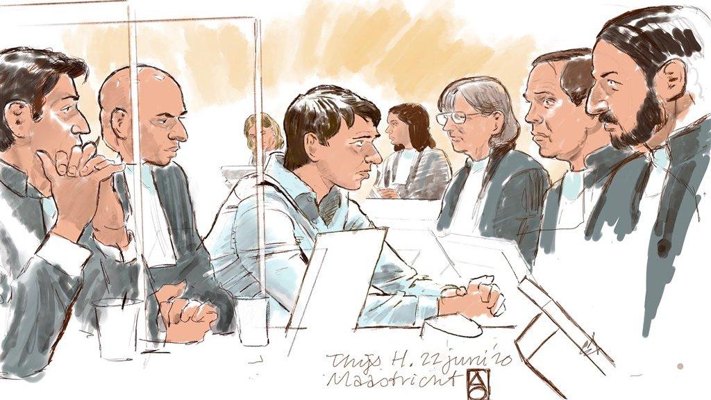Thijs H., tijdens een eerdere zitting.