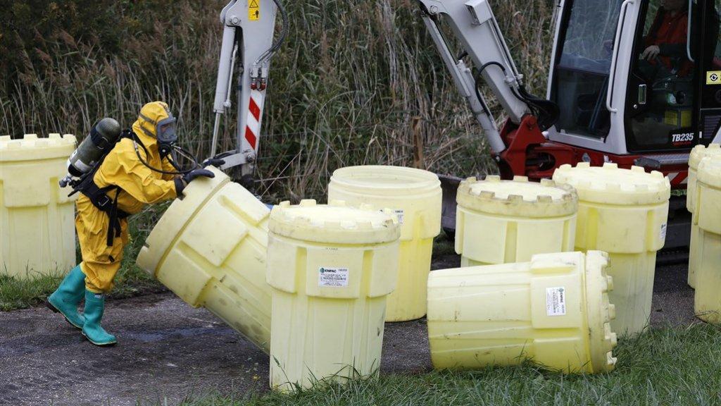 Een grote dumping in een natuurgebied in Arnhem vorig jaar