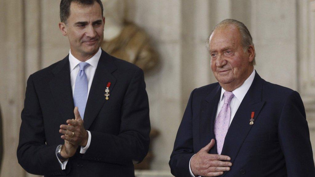 Felipe schrapte eerder al de toelage van zijn vader Juan Carlos.