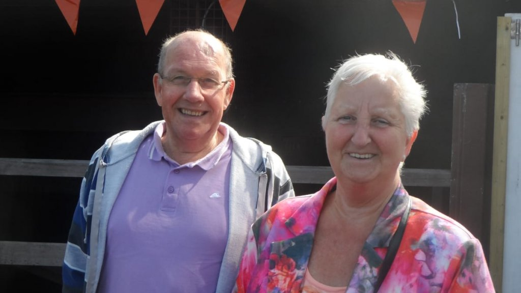 Lynns opa en oma.